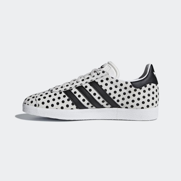ADIDAS X FARM Gazelle W Polka Dot Tennis Shoes NWT